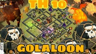 golaloon golem lava hound ballon ck cw rh10 th10 vs rh10 th10 3sterne clash of clans deutsch german
