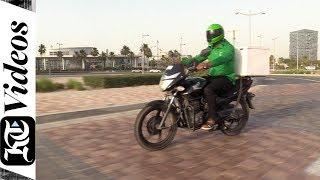 Bike collects surplus food for free during Ramadan in Dubai
