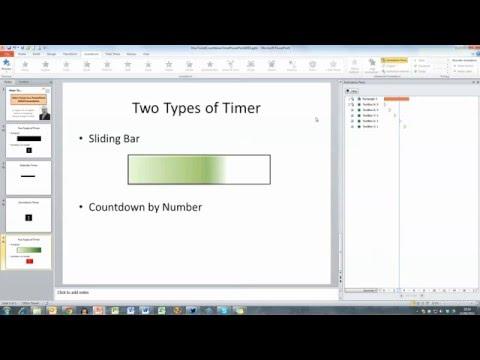 Set Timer for 15 Minutes Presentation