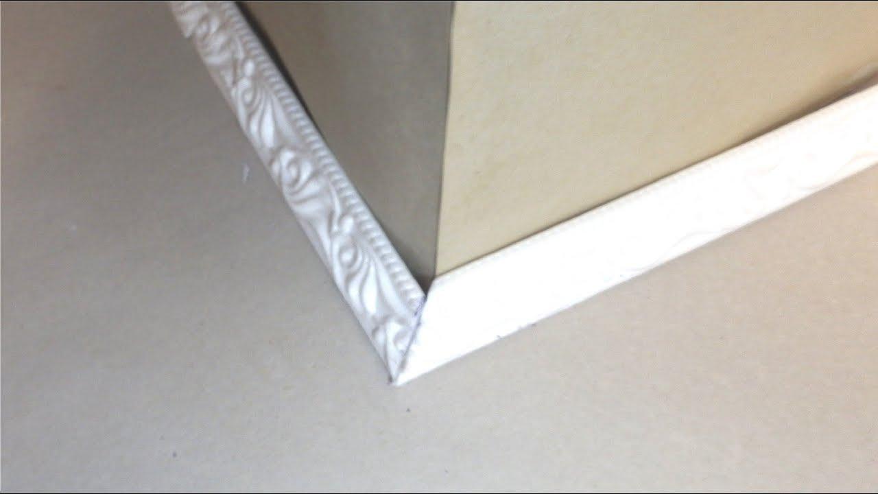 Как правильно сделать потолочные плинтуса фото 72