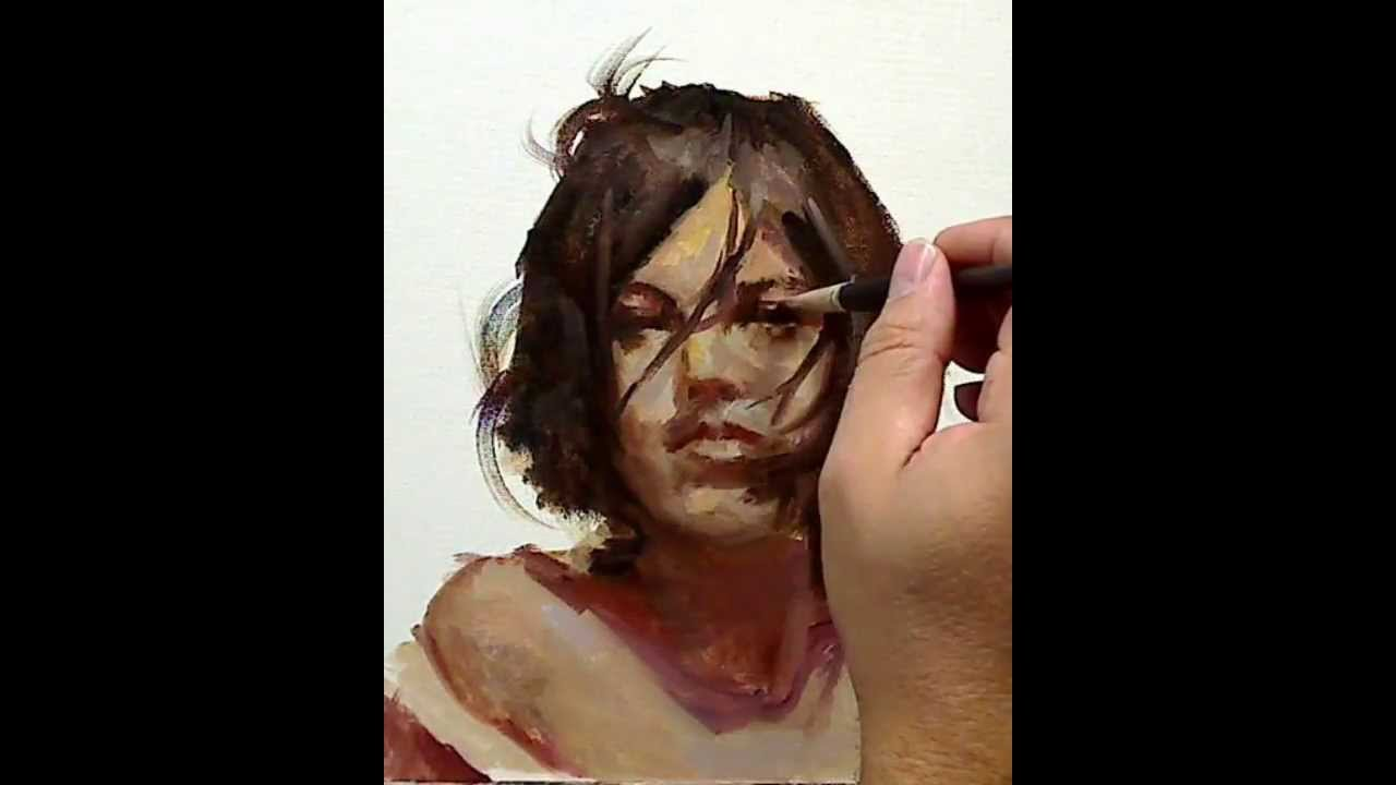 Portrait Oil Painting - YouTube