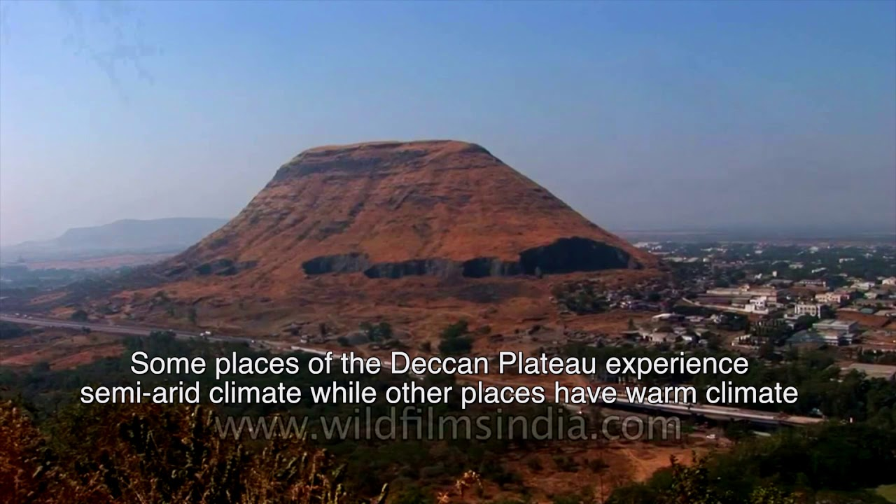 the southern plateau of india