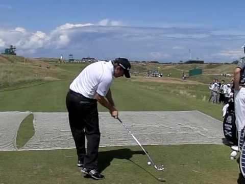 RICHIE RAMSAY SLOW MOTION 6TH TURNBERRY OPEN 2009 2