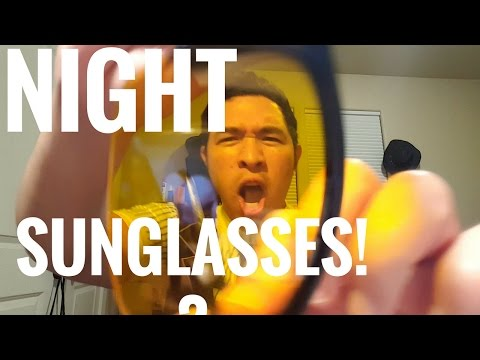 Night Vision UV400 Yellow Sunglasses Unboxing and Review