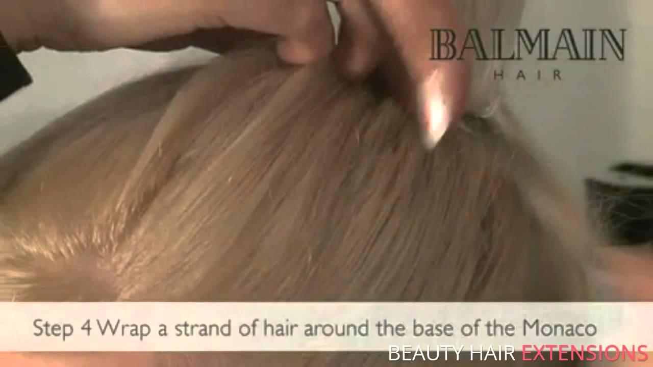 Balmain Elegance Ponytail Great Hair Extensions Youtube