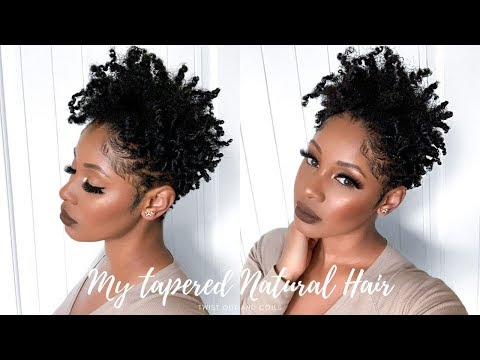 defined-shiny-moisturized-twist-out-&-coils-for-tapered-cut-|-short-natural-hair-tutorial
