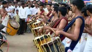 Singari Melam at Polali Rajarajeshwari Temple