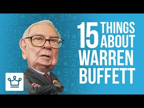 15 Things You Didn't Know About Warren Buffett
