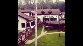 Глеб Жемчугов снимает территорию проекта Дом 2.