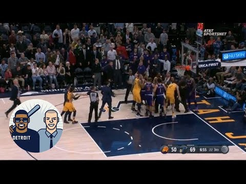 Jalen Rose breaks down the drama between the Suns and Jazz | Jalen and Jacoby | ESPN