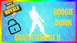 SEE THE NEW FREE DANCE BOOGIE DOWN !!!! Fortnite Battle Royal