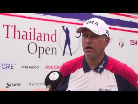 2017 Thailand Open Rd 2 - Jeev Milkha Singh interview