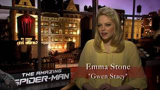 THE AMAZING SPIDER-MAN Interview w/ Emma Stone (Gwen Stacy) | BlackTree TV in HD