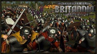 EPIC NORMAN INVASION! - Total War Saga: Thrones Of Britannia Online Gameplay