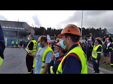 Continúan las movilizaciones de los trabajadores de Alcoa