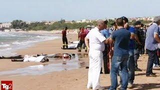 El naufragio de una patera deja al menos 13 muertos en Sicilia