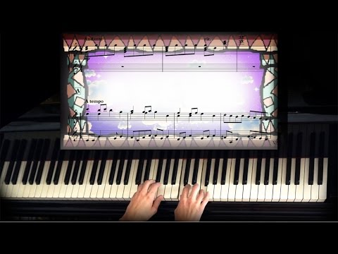 Yoshi's Island Music Box Intro piano + sheet music - Easy
