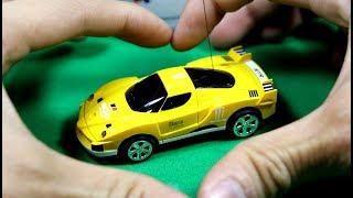 Mobil balap remote control kecil - sangat lucu