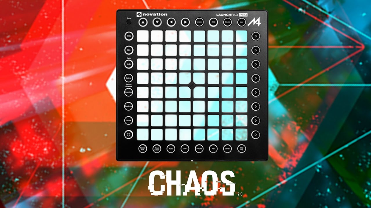M4SONIC 'Chaos' Project File & Sample Pack for Launchpad