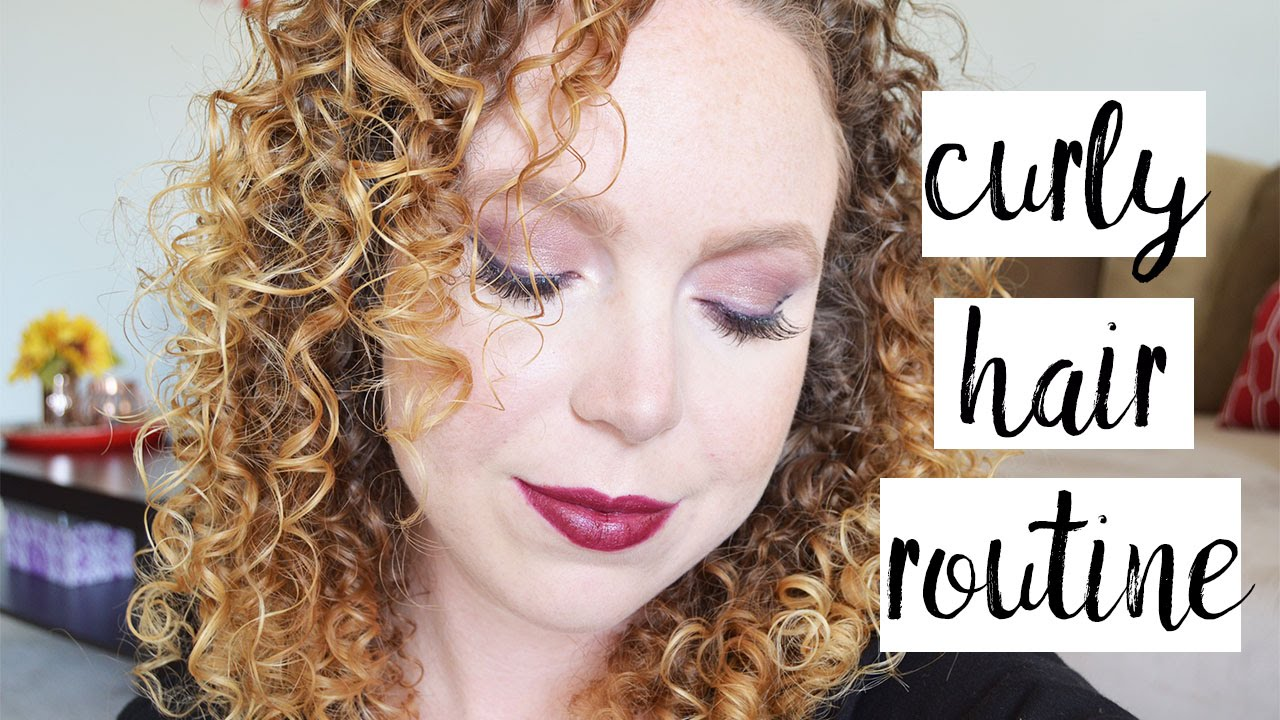 Second Day Curly Hairstyles Second Day Curly Hair Routine Natural Dry Hair Youtube