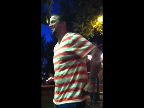 Michael tolcher hops the fence and sings brian McKnight