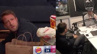 Dave Portnoy Breaks Down The Pats Wild AFC Championship Win on Barstool Radio