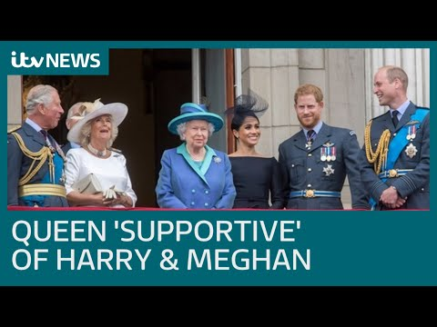 Queen agrees 'transition