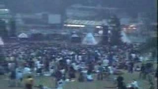 1996年伝説の野外レイブの映像。石野卓球プレイ とにかく凄かった。