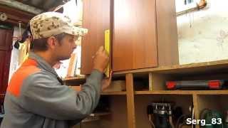 как сделать шкафчик на кухню своими руками