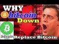 WHY BITCOIN IS DOWN ? WHY Bitcoin Cash Won't Replace Bitcoin