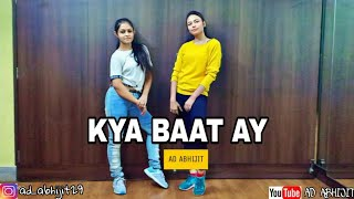 Harrdy Sandhu - Kya Baat Ay | Dance Cover | AD Abhijit Choreography || for Beginners