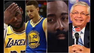 NBA Players React To David Stern Death Lebron James Steph Curry James Harden