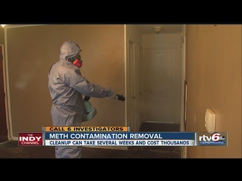 Meth Contamination Cleanup Can Take Weeks, Cost Thousands
