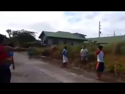 Funny Basketball only in the Philippines