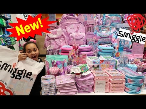 Thumbnail: NEW Smiggle School Supplies Mega Haul In Smiggle Store - Pencil Case Eraser