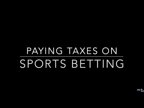 How To Pay The IRS Taxes On Sports Betting | Silver Tax Group