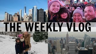 WEEKLY VLOG 45: New York Adventures!