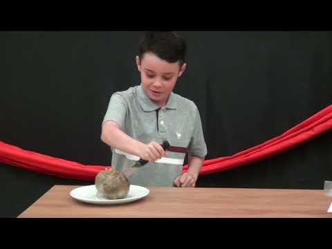 KSF Food Festival 2017  Ben Durham Address The Haggis