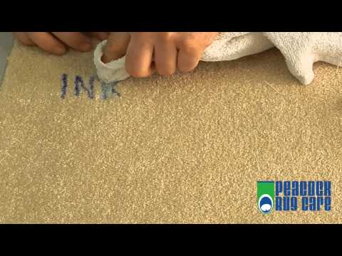How to Remove Ink From Carpets