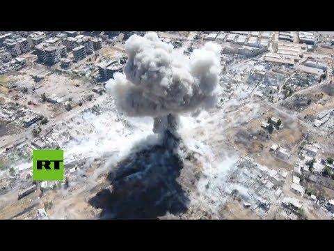 Ataques del Ejército sirio contra oposición armada