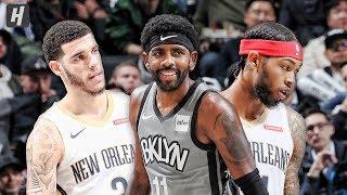 New Orleans Pelicans vs Brooklyn Nets - Full Game Highlights | November 4, 2019 | 2019-20 NBA Season