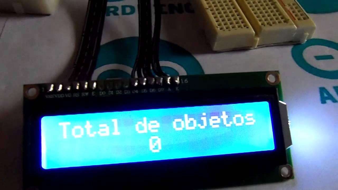 Contador De Objetos Utilizando Arduino Objects Counter