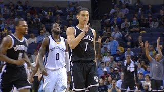 Jeremy Lin Highlights - 3/6 Nets at Grizzles