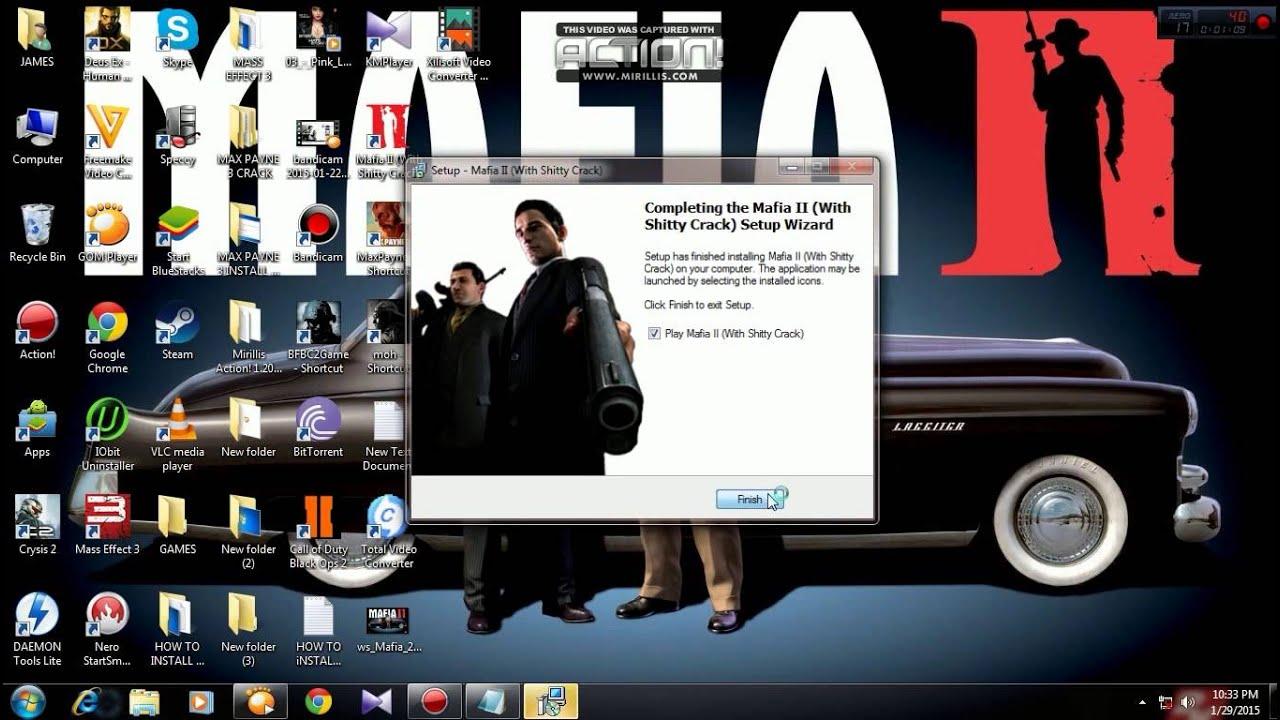 Tutorial how to download install mafia 2 pc full version legit youtube - How to download mafia 2 ...