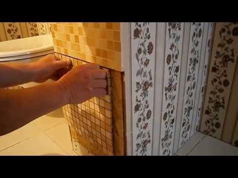 Как спрятать трубы в ванной. Дверка в ванной