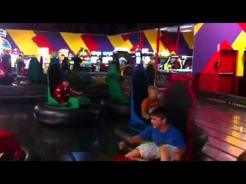 Bumper Cars Peter Piper Pizza Youtube