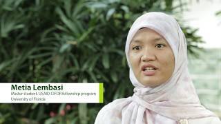Metia Lembasi – USAID-CIFOR fellowship program