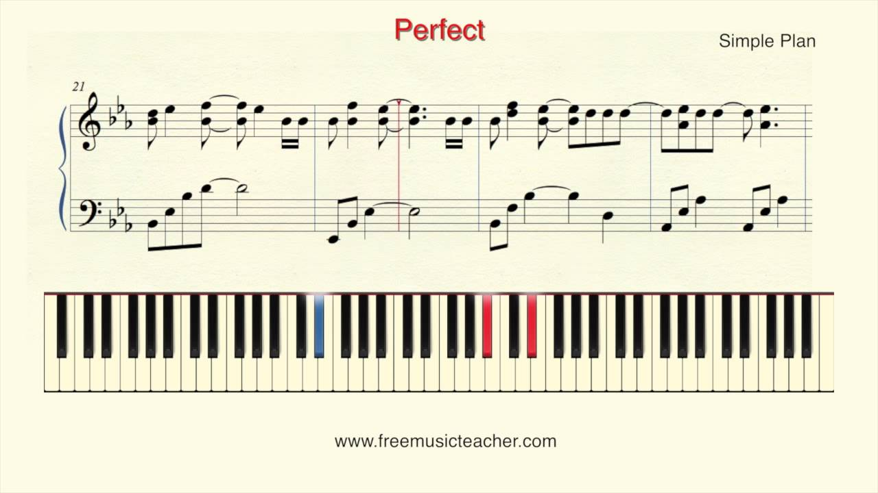 How to play piano simple plan perfect piano tutorial by ramin how to play piano simple plan perfect piano tutorial by ramin yousefi hexwebz Images