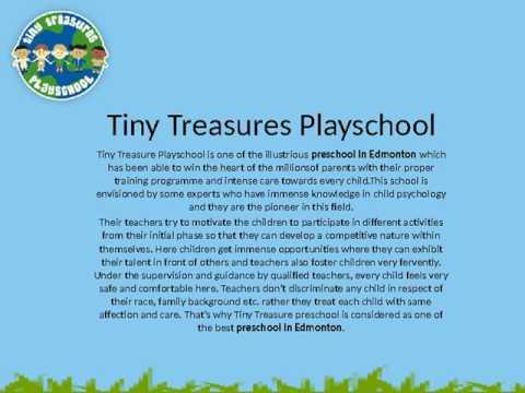Best Preschool in Edmonton l Tiny Treasures Playschool
