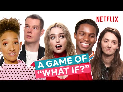 The Sex Education Cast Play A Game Of What If | Netflix
